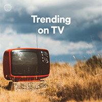 Trending on TV Playlist cover