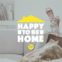 Happy to be home Playlist cover